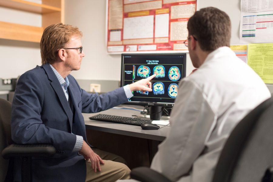 Dr. Johnson discusses scans